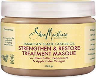 SheaMoistureJamaican Black Castor Oil Strengthen, Restore Treatment Masque | 12 fl.oz.