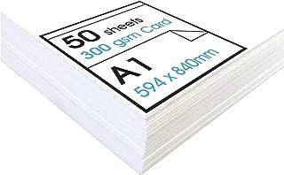 A1+ 250gsm White Cartridge Card
