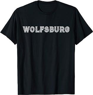 Vintage Retro Nostalgische Wolfsburg Germany Gift T-Shirt