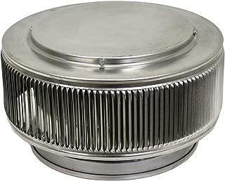 Aura PVC Vent Cap 10 Inch Diameter (Mill finish)