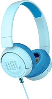 JBL Kids Wired On-Ear Headphone Jr300 - Blue, JBLjr300Blu