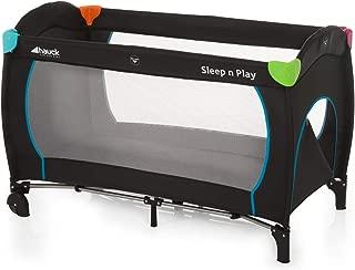 Hauck Sleep'N Play Go Plus, Travel Bed, 0M+ to 15 kg - Multicolor Black