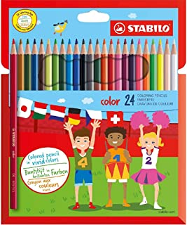 Colouring Pencil - STABILO color - Wallet of 24 (Assorted Colours)