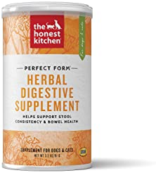 The Honest Kitchen Herbal Digestive Supplement Pet food for Cats and Dog