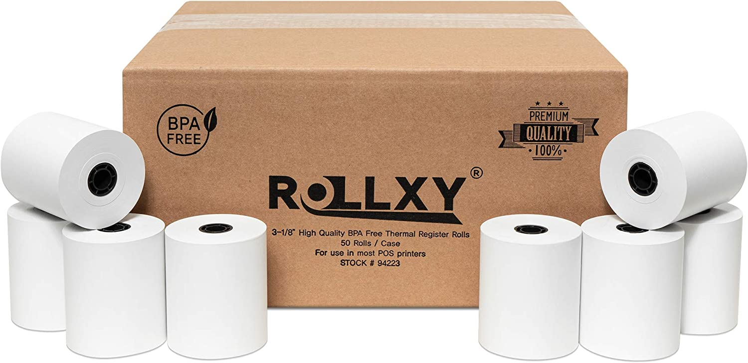 3-1 8 X 230 Thermal Paper for Ro Tsp100 Max 58% OFF 50 Star Free CT-S300 BPA Sales of SALE items from new works