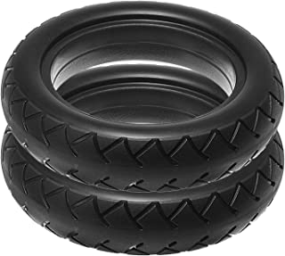 Summerwindy 2 Pc Neumático de La Vespa Neumático Sólido del Vacío 8 1 / 2X2 para M365 Patineta Eléctrica