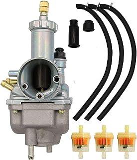 15003-1716 Washable new Air filter KIPA Carburetor Air Fitler Fuel Filter Kit For Kawasaki Bayou 220 KLF220A KLF220 KLF 220A ATV Quad 1988-1998 Bayou KLF 250 2003-2011 Replace OEM Part # 15003-1080