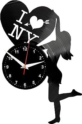 EVEVO Sherlock Holmes - Reloj de Pared (Vinilo), diseño de Silueta ...