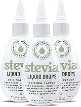 NatriSweet Stevia Liquid Drops Original Flavor - 3 Pack - (2 fl oz / 60 Milliliter)