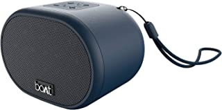 boAt Stone 149 Portable Wireless Speaker with 3W Immersive Audio, Bluetooth V5.0, Up to 6H Playback, Multiple Connectivity Modes and FM Mode (Blue)