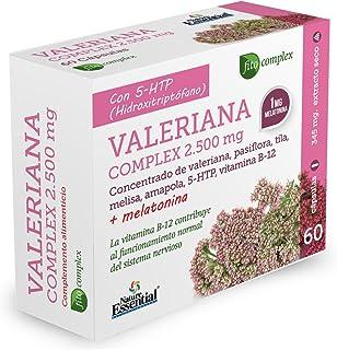 Valeriana (complex) 2740 mg. (ext. seco) 60 capsulas