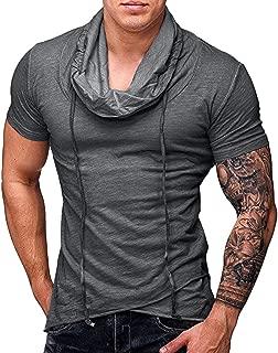 RTYou Mens shirt Mens Denim Vest Plus Size Button Down Sleeveless Lapel Denim Jeans Vests Jacket Brush Frazzle Denim Vest
