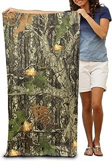 Hunting Camo Adults Cotton Beach Towel 31 X 51-Inch