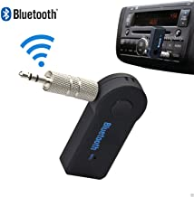 New PC Wireless Bluetooth 3.5mm Car Aux Audio Stereo Music Receiver Adapter+ Mic