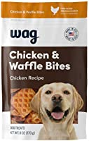 Amazon Brand - Wag Treats, Chicken and Waffle Bites