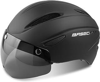 comprar comparacion Casco Bicicleta con Visera, Kinglead Protección de Seguridad Ajustable Casco de Bicicleta Ligera para Montar en Bicicleta ...