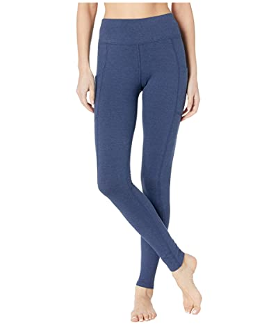 PACT Organic Cotton Pocket Leggings (Navy Heather) Women
