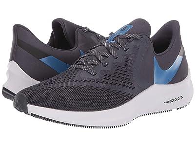 Nike Air Zoom Winflo 6 (Gridiron/Mountain Blue/Black/Vast Grey) Men