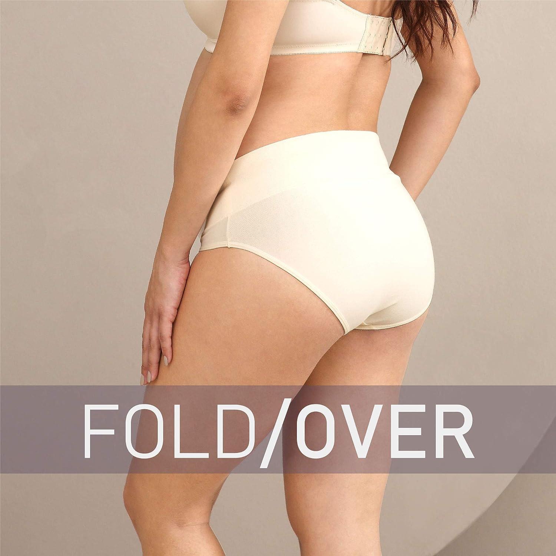 Intimate Portal Maternity Underwear Foldable Under Bump Pregnancy Postpartum Briefs