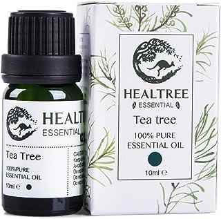 HEALTREE Tea Tree Essential Oil - Australian 100% Pure & Natural Essential Oils | Perfect for Hair & Skin Care, Air Purifi...