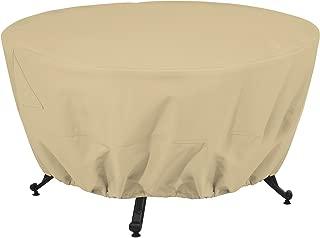 Classic Accessories Terrazzo Round Patio Fire Pit/Table Cover, 42 Inch