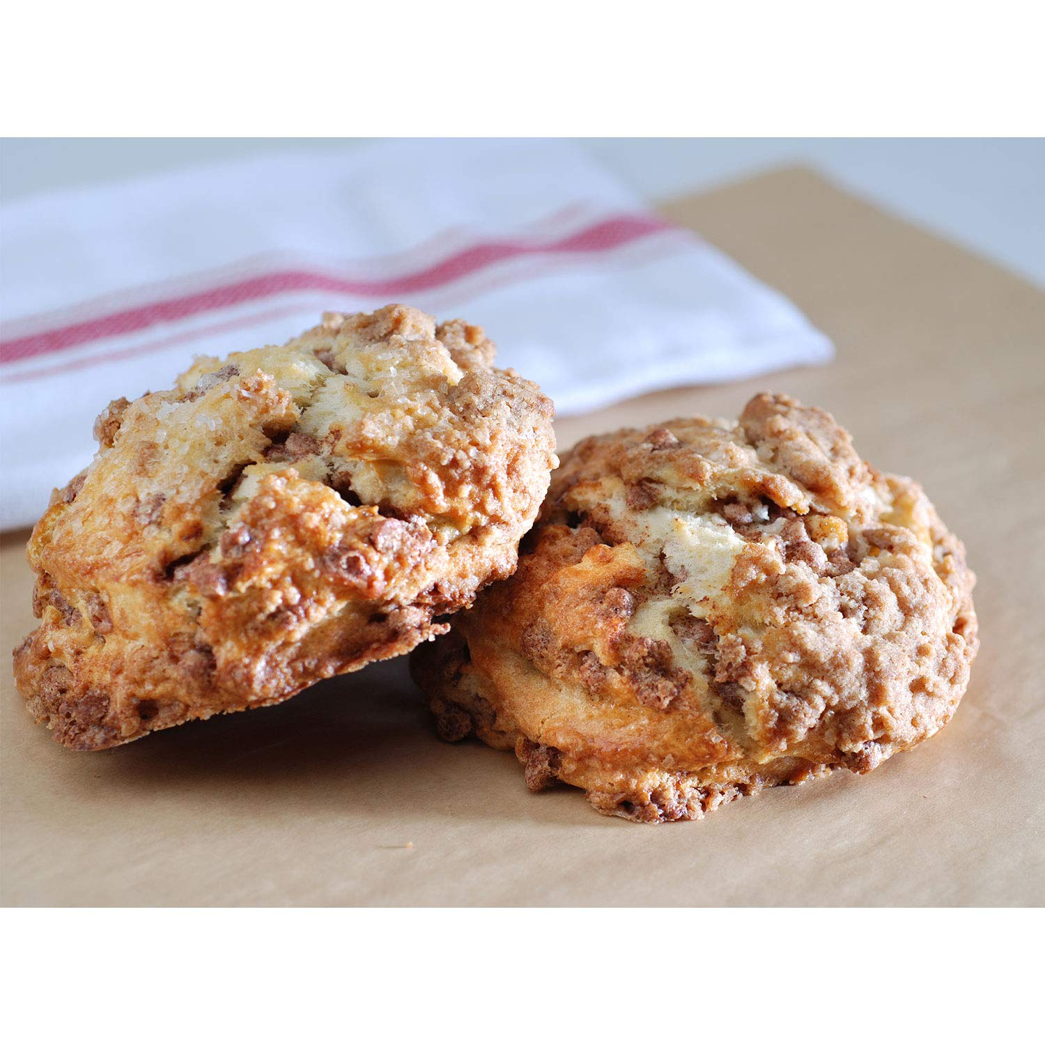 Poppie's Dough Fresh Baked Scone Basket 13 Pieces Max 72% OFF Ch Cinnamon OFFicial site
