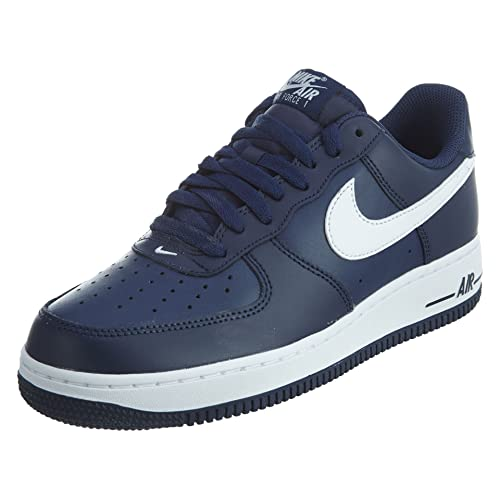 7595d6562a7f8 Navy Blue Air Force Ones: Amazon.com