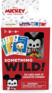 Something Wild! Disney Mickey & Friends - Mickey Mouse Card Game - Christmas Stocking Stuffer