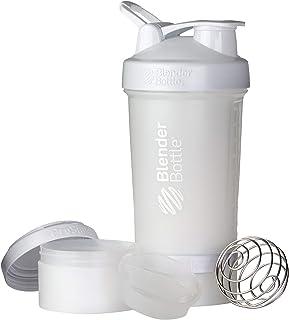 BlenderBottle ProStak - Botella de agua y mezcladora