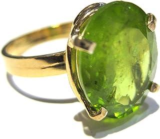 anillo peridoto Oro 750%