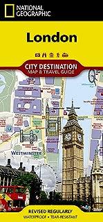 London (National Geographic Destination City Map)