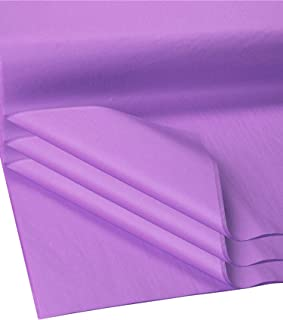 Flexicore Packging® | Gift Wrap Tissue Paper | Size: 15x20 | Acid Free (Lilac Purple, 100 Sheets)