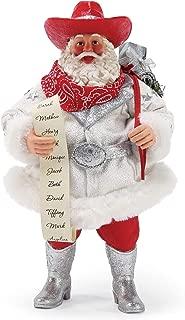 Department 56 Possible Dreams Santa Sports and Leisure Rhinestone Cowboy Personalizable Figurine, 11 Inch, Multicolor