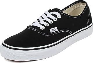Unisex Authentic Black Canvas VN000EE3BLK Skate Shoe
