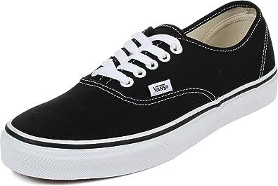 Vans Unisex Authentic Skate Shoe (Black)