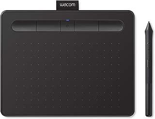 【Amazon.co.jp限定】ワコム ペンタブレット Wacom Intuos Smallワイヤレス クリスタ付き 黒 Androidにも対応 データ特典付き TCTL4100WL/K0