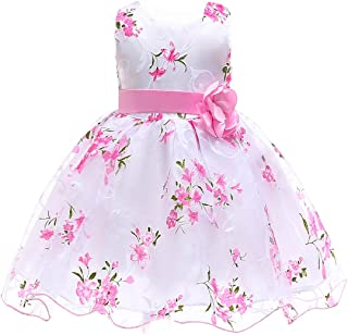 Summer Kids Clothes Baby Girls Flower Princess Dress for Wedding Party Toddler Girl Children Clothing
