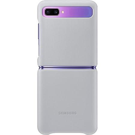 Samsung Leather Cover Ef Vf700 Für Galaxy Z Flip Silver Elektronik