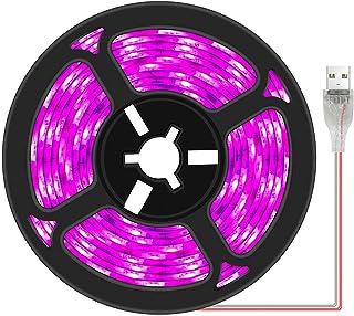 Plant Grow Light Strip 2835 SMD IP66 Waterproof Full Spectrum Growing Lamp Plant Grow LED Light for Indoor Plants Greenhou...