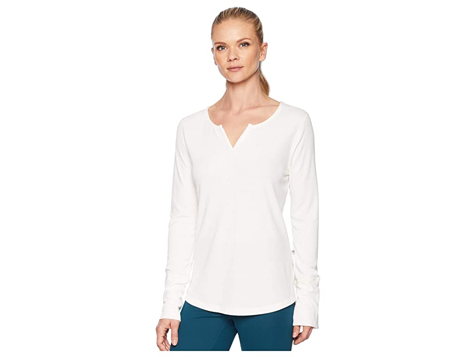 Mountain Hardwear Daisy Chaintm Split Neck Long Sleeve Shirt (Cotton) Women
