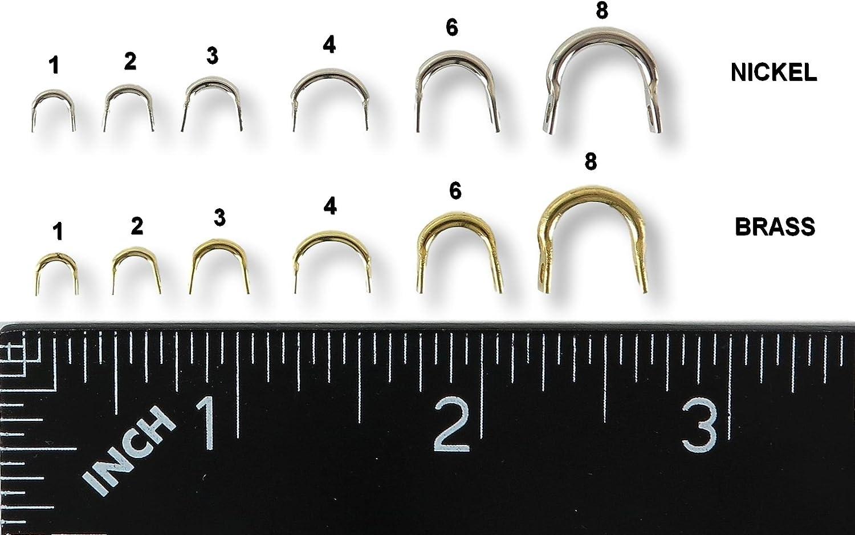 Festnight 50PCS Easy-Spin Clevis Spinner en Acier Inoxydable DIY Spinner Leurres De P/êche Accessoires