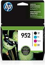 HP 952 | 4 Ink Cartridges | Black, Cyan, Magenta, Yellow...