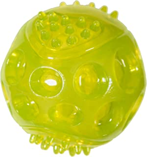 Chase 'n Chomp Durable TPR Squeaking Fetch Ball Dog Toy, 3""