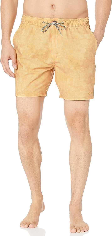 Rip Curl Men's Sunbleach Volley Side Pocket Boardshorts