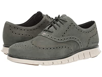 Cole Haan Zerogrand Wing Ox (Duffel Bag Nubuck/Pumice Stone) Men
