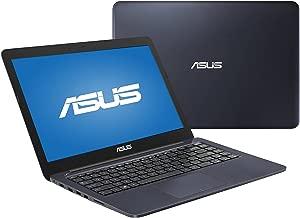 2016 Flagship Model Asus Dark Blue 14 inch EEEBOOK Laptop PC, Intel Dual-Core Processor, 4GB RAM, 32GB SSD, HDMI, VGA, Bluetooth, SD Card Reader, WiFi, Windows 10