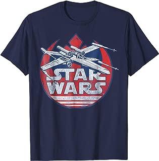 X-Wing Rebel Symbol Vintage Graphic T-Shirt Z1