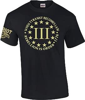 Best 3 percenter shirt Reviews