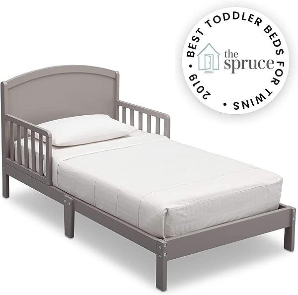 Delta Children Abby Toddler Bed Grey