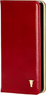 TORRO Phone Case Compatible with Apple iPhone 11 Genuine Quality Leather Flip Cover with [Card Slots] [Horizontal Viewing ...